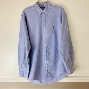 Ralph Lauren Polo dress shirt 16-34 classic blue